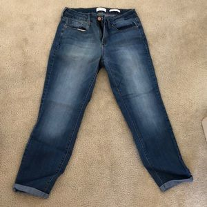 Jessica Simpson Cropped Skinny Jeans
